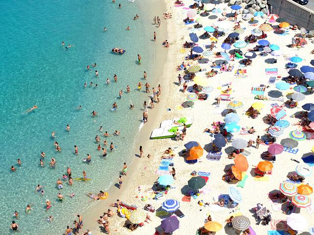 Italy, Calabria, Tropea, Beach, Human, Dolce Vita