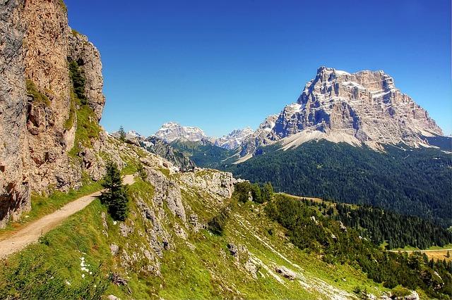 Civetta, Monte Pelmo, Belluno, Italy, Rock, Alpine