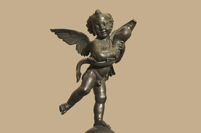 Italy, Florence, Bronze, Palazzo Vecchio, Baby Dolphin