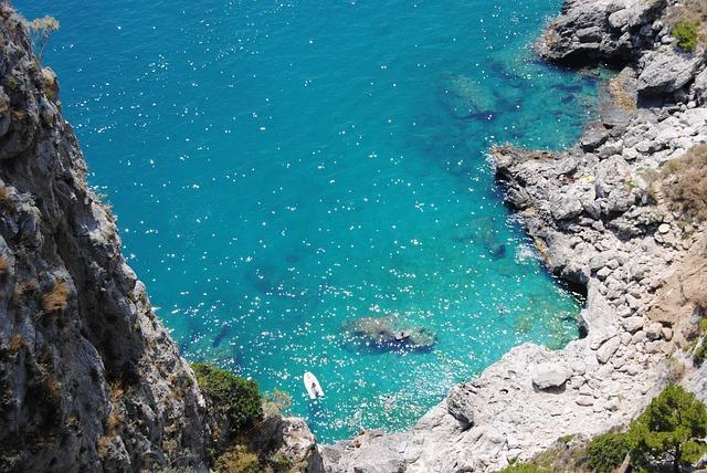 Capri, Italy, Beach