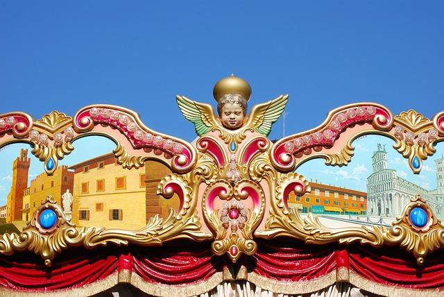 Tivoli, Carousel, Italy
