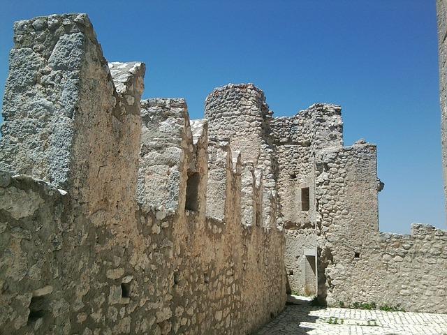 Rocca Calascio, San Marino, Castle, Italy, L'aquila