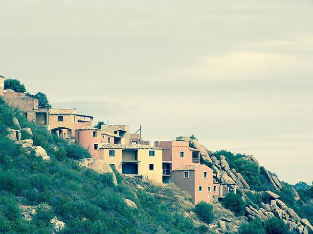 Facade, Sardinia, Cagliari, City, Italy, Palm