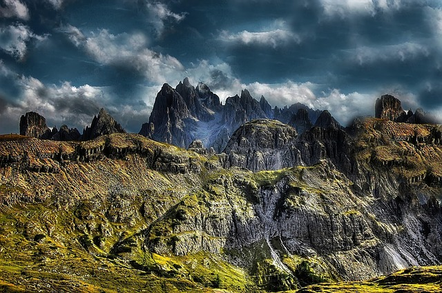 Cadini, Dolomites, Mountains, Nature, Italy