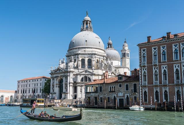 Venice, Italy, Gondola, Gondoliers, Canal, Travel