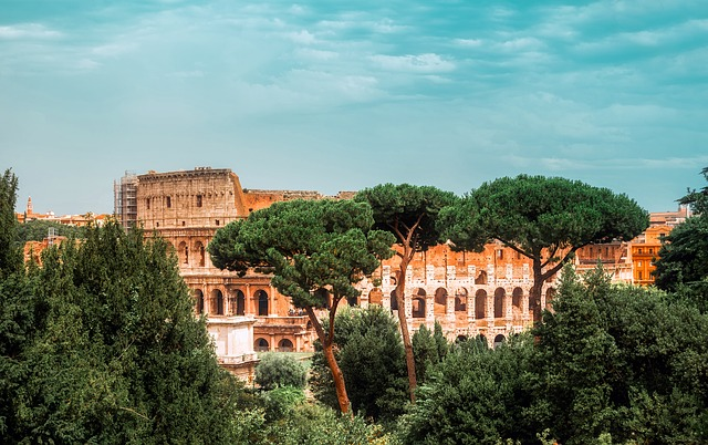 Rome, Italy, Colosseum, Landmark, Historic, Tourism