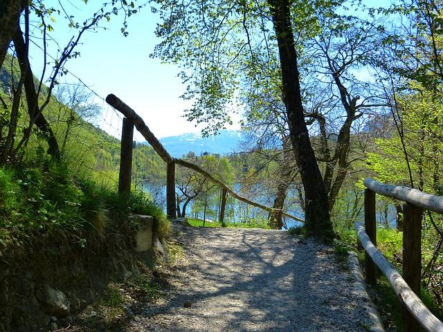 Away, Tenno Lake, Lago Di Tenno, Italy, Mountains