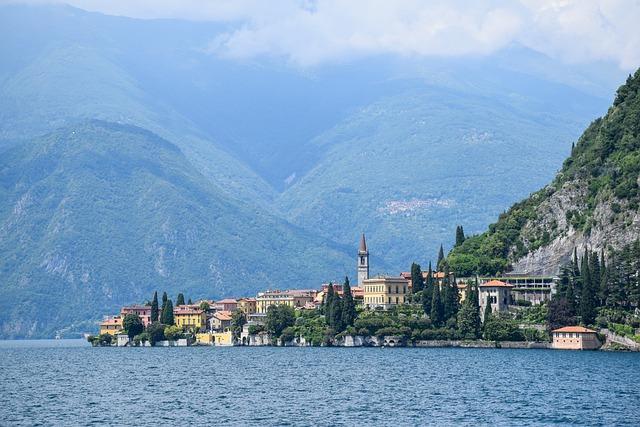 Lake Como, Italy, Holiday, Sea, Water, Summer, Menaggio