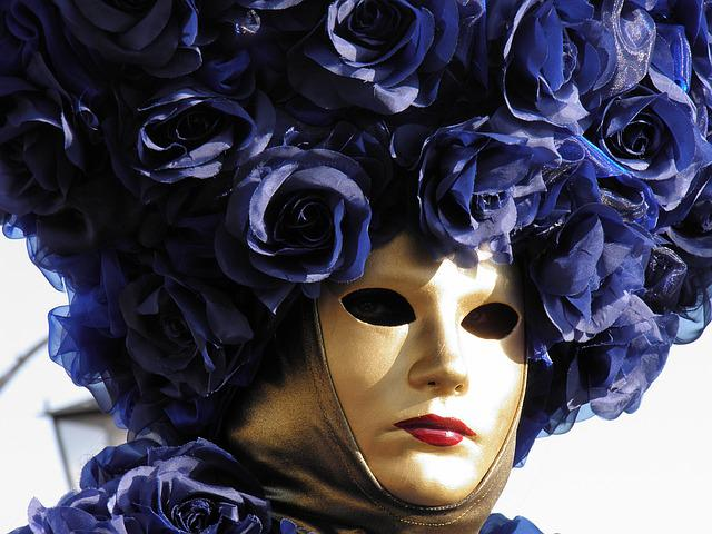 Venice, Italy, Carnival, Mask, Disguise