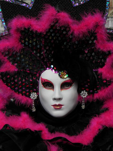 Venice, Italy, Carnival, Mask, Mask Of Venice, Disguise
