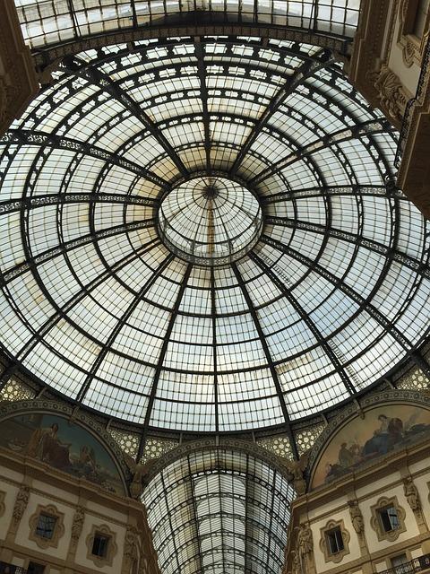 Vittorio Emanuele Gallery, Milan, Italy