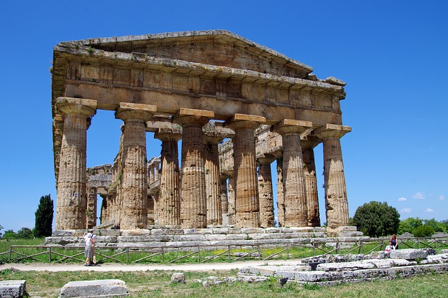 Paestum, Salerno, Italy, Temple Of Neptune