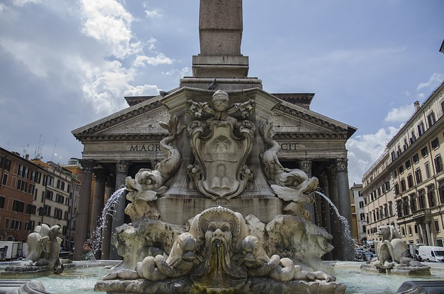 Pantheon, Fountain, Italy