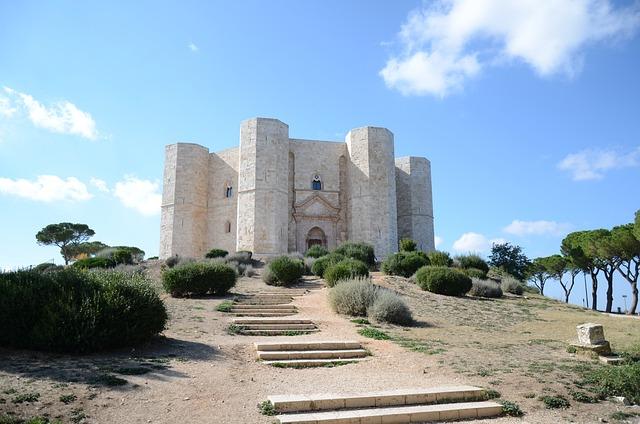 Italy, Pouilles, Castle, Castel Del Monte