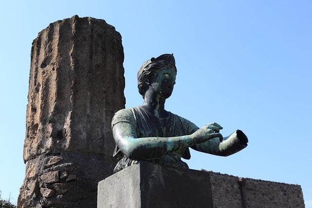 Italy, Pompei, Roman, Ancient, Vesuvius, Volcano