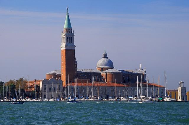 Campo San Giorgio, Venice, Italy, Old Town, Romantic
