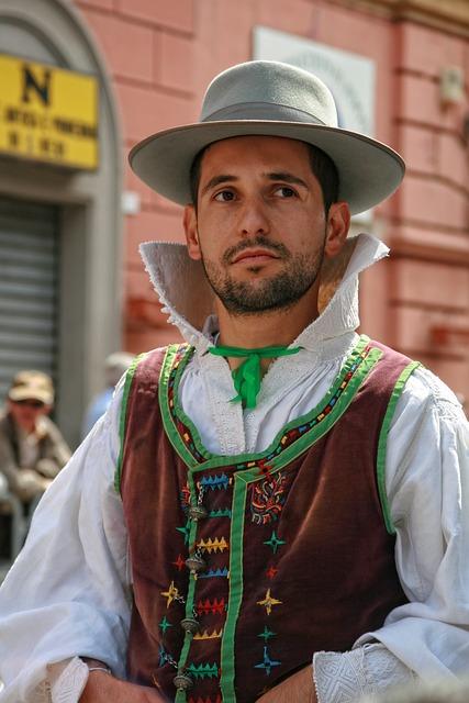 Italy, Sardinia, Cagliari, Folklore