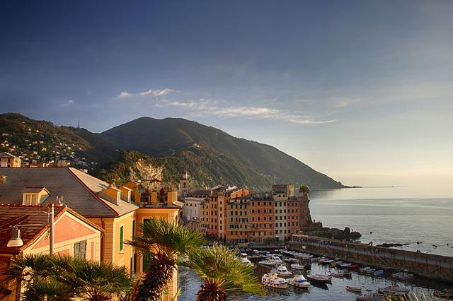 Genoa, Sea, Tourism, Italy, Water, Summer, Holidays