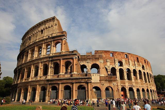 The Colosseum, Roman, Italy