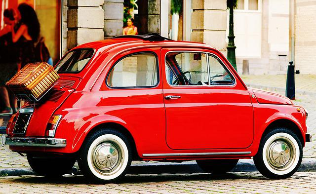 Fiat, Fiat 500, Auto, Oldtimer, Vehicle, Classic, Italy