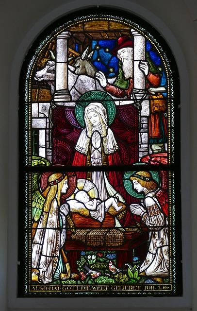 Window, Church, Church Window, Stained Glass, Italy