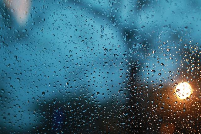 Raindrops, Glass, Rain King, It's Raining