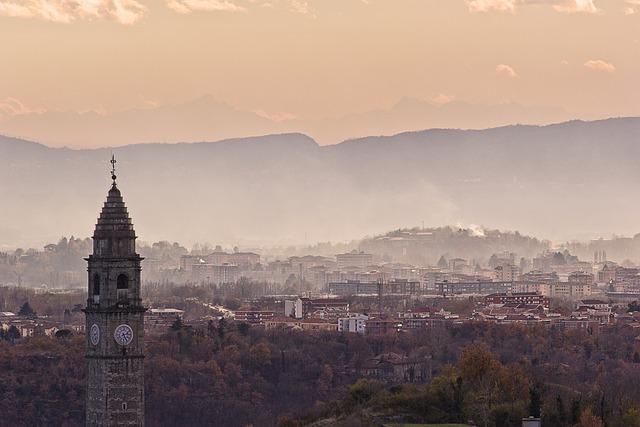 Church, Ivrea, Piemonte, Tower Of The Church