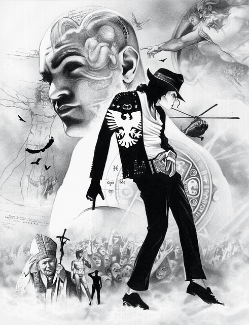 Michael Jackson, Jackson, Drawing, Draw, Art, Pencil