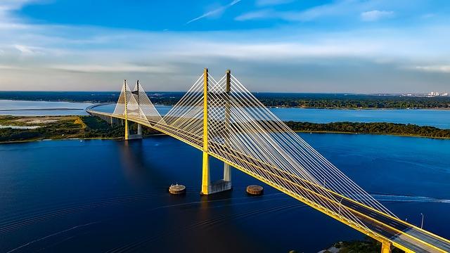 Dames Point Bridge, Jacksonville, Florida
