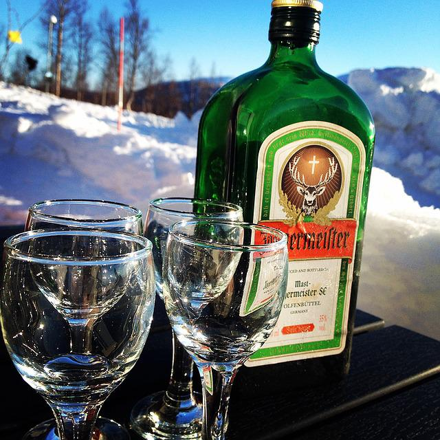 Jäger, Jägermeister, Snow, Afterski, Glass, Solar