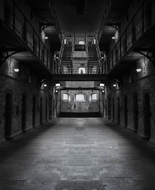 Prison, Jail, Dark, Creepy, Lockup, Incarceration