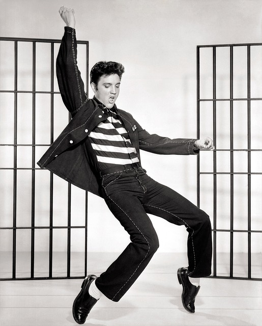 Elvis, Presley, Jailhouse Rock, Dancing, Celebrity