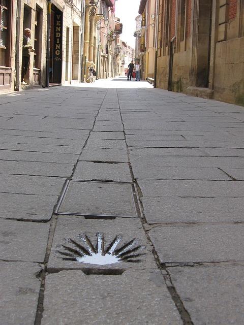 Jakobsweg, Alley, Old Town, Northern Spain