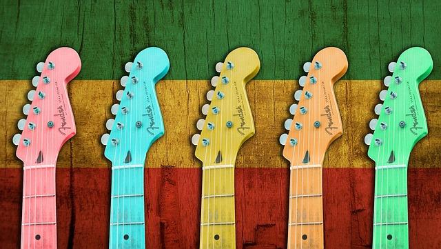 Jamaica, Geggae, Music, Guitar, Instruments, Sound