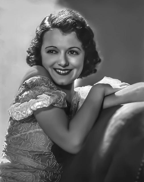Janet Gaynor, Female, Portrait, Hollywood, Actress