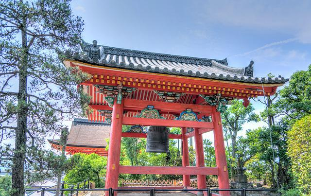 Senso-ji Temple, Kyoto, Japan, Architecture, Asia
