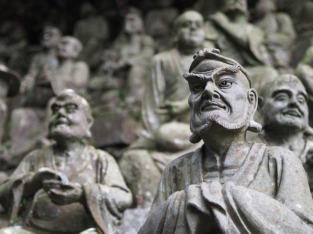 Buddha, Buddha Statue, Japan, Buddhism, Stone Statues