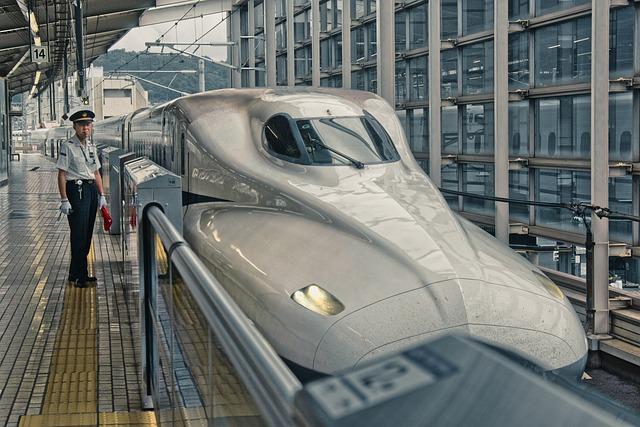 Shinkansen, Japan, Express Train, Railway Station