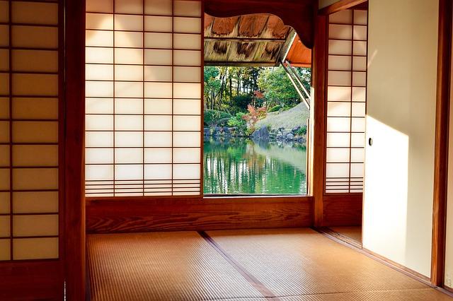 Japan, Japanese-style Room, Houses, Garden