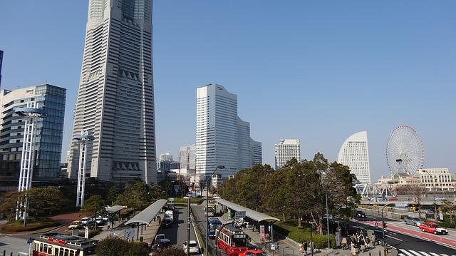 Yokohama, Japan, Minato Mirai, Minatomirai