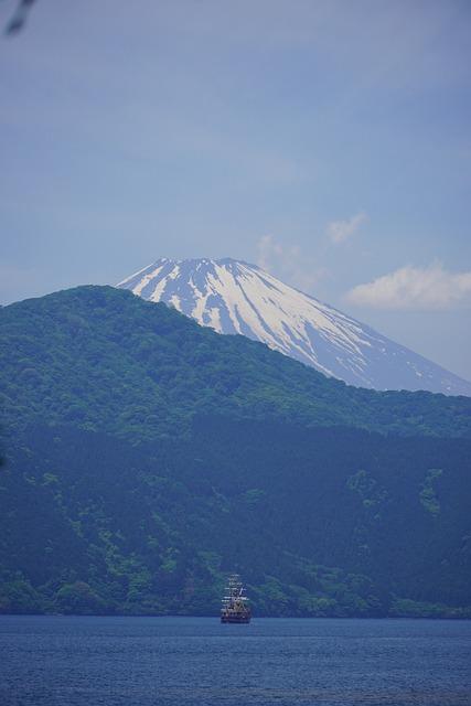 Lake View, Fuji, Mountain, Japan