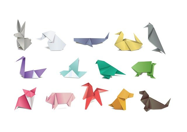 Origami, Paper, Folding, Japan, Hobby, Craft, Animals