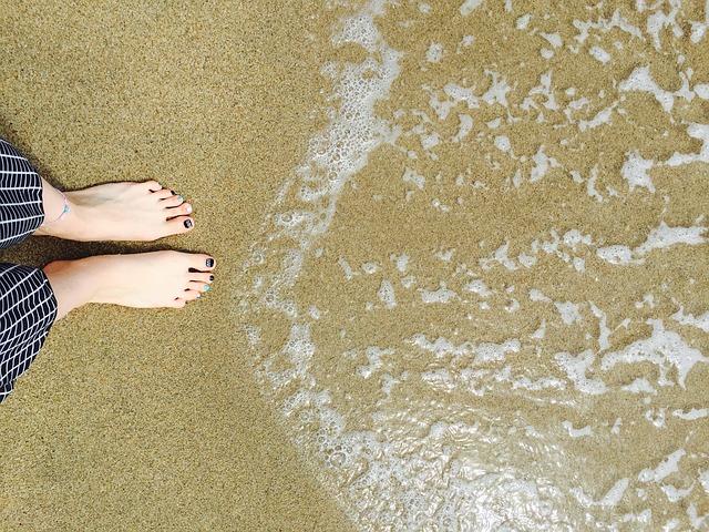 Sea, Japan Sea, Bathing Beach, Naksan, Toe, Waves, Sand