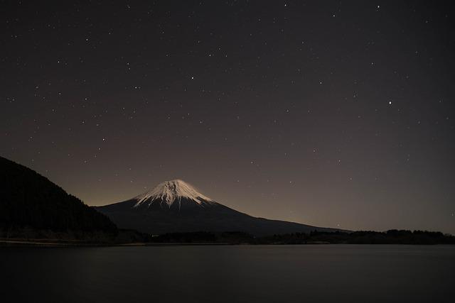 Mt Fuji, Lake Tanuki, Shizuoka Prefecture, Japan