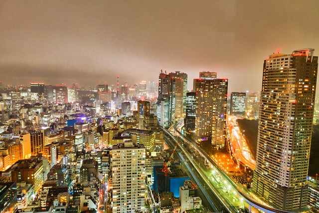 Tokyo, Skyline, Japan, City, Architecture, Skyscraper