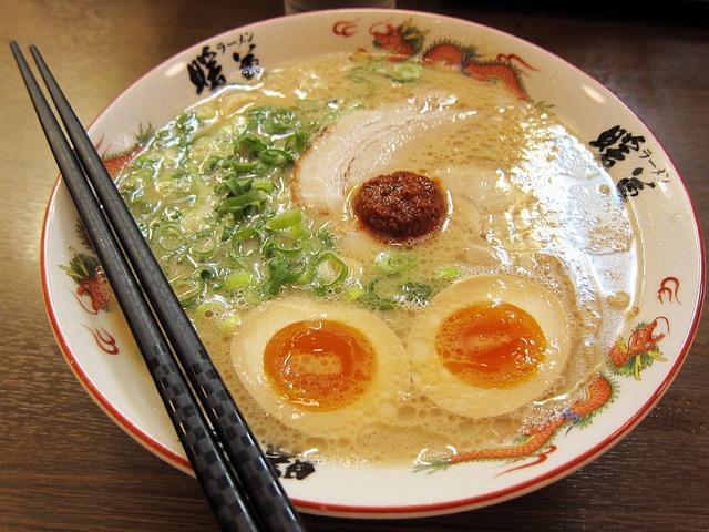 Noodle Soup, Ramen Noodles, Ramen, Japanese Food