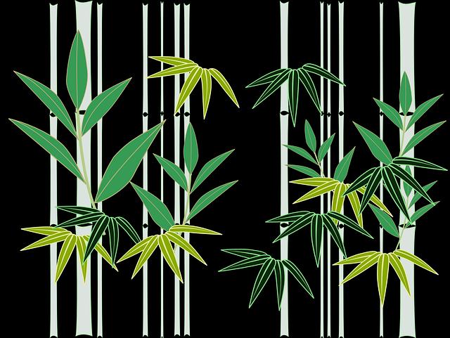 Bamboo, Japan, Japanese Style, Japanese Pattern
