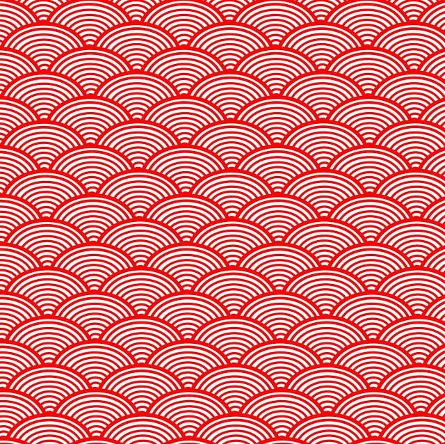 Japanese Wave, Pattern, Japanese, Japanese Pattern