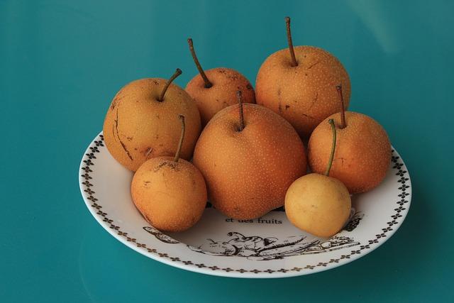 Food, Fruit, Produce, Sweet, Japanese Pear, Pear
