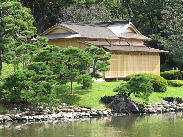 Japan, Japanese Teahouse, Building, Architecture